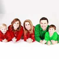 Een succesvol samengesteld gezin